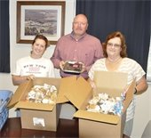 Faith Assembly Church in Rock Hill brought boxes of baked goods to show their appreciation