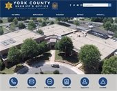 Screen grab of the front page of yorkcountysheriff.com
