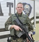Det. Mike Doty member of the SWAT Team, Entry Team