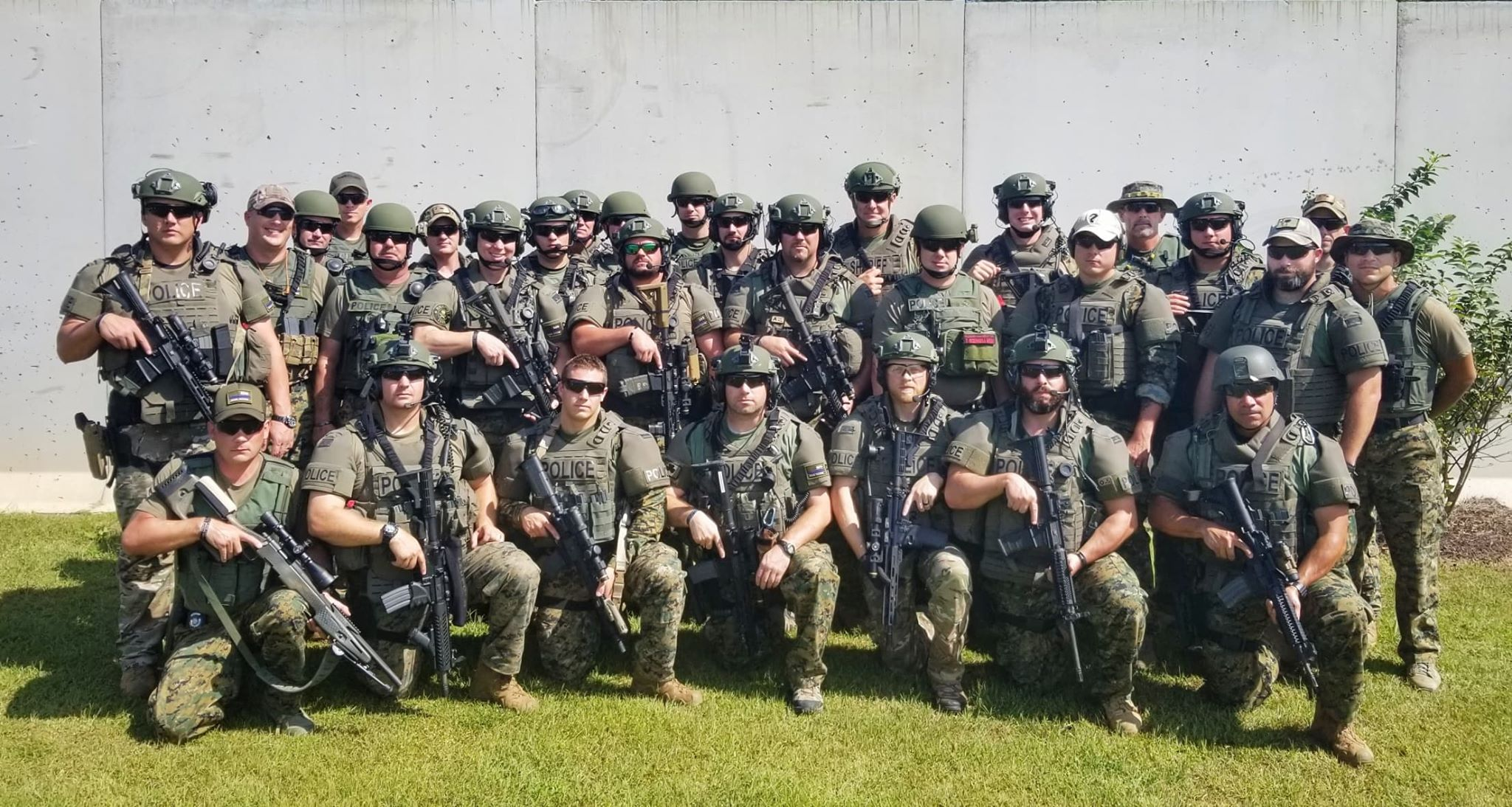 October 2nd Full SWAT Team Group Photo