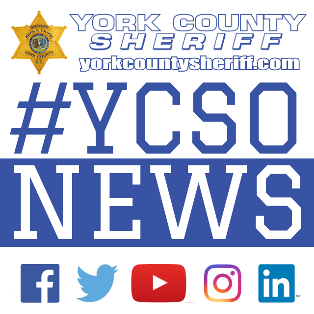 2019 YCSO NEWS Blue with hashtag #YCSONews